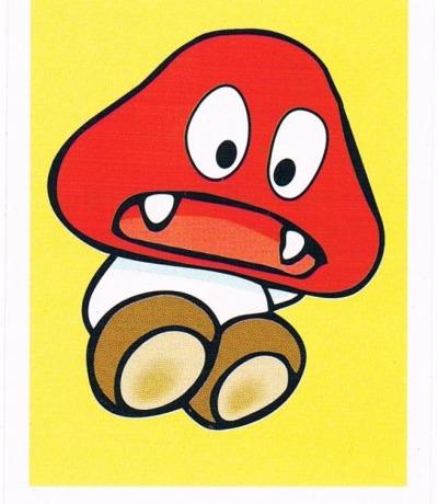Sticker Nr211 Nintendo Official Sticker Album