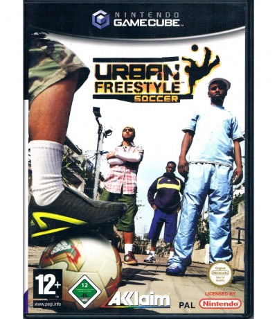 Urban Freestyle Soccer - Nintendo GameCube