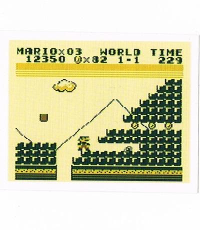 Sticker Nr215 Nintendo Official Sticker Album