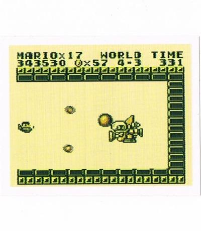 Sticker Nr218 Nintendo Official Sticker Album