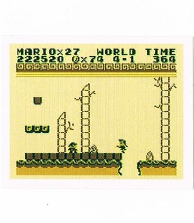 Sticker Nr220 Nintendo Official Sticker Album
