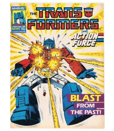 The Transformers - Comic Nr/No 197
