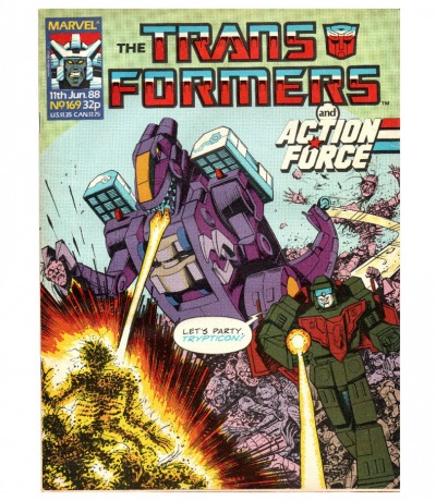 The Transformers - Comic - Generation 1 / G1 - 1988 - Jun. 88 / 169 - Englisch - Transformers
