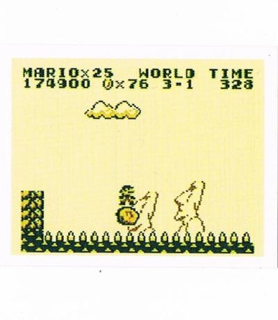Sticker Nr227 Nintendo Official Sticker Album
