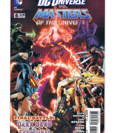 DC Universe vs Masters of the