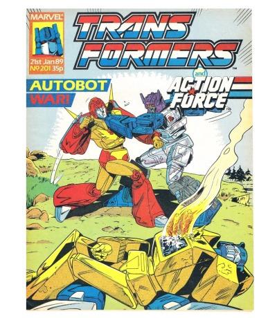 The Transformers - Comic Nr/No 201