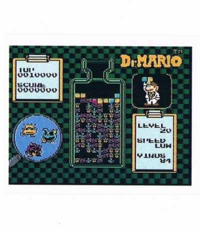 Sticker Nr242 Nintendo Official Sticker Album