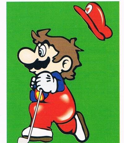 Sticker Nr244 Nintendo Official Sticker Album