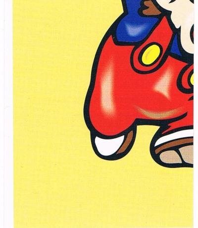 Sticker Nr251 Nintendo Official Sticker Album