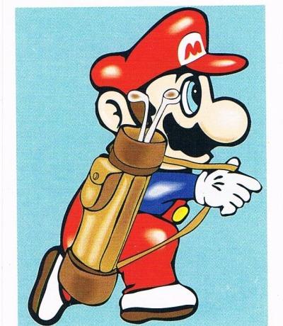 Sticker Nr253 Nintendo Official Sticker Album