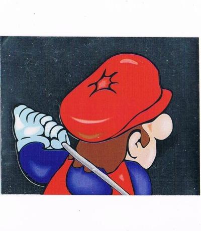Sticker Nr254 Nintendo Official Sticker Album