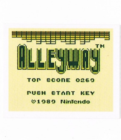 Sticker Nr259 Nintendo Official Sticker Album