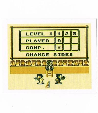 Sticker Nr263 Nintendo Official Sticker Album