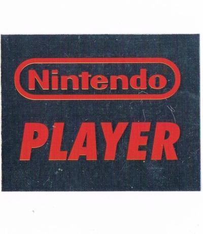 Sticker Nr264 Nintendo Official Sticker Album