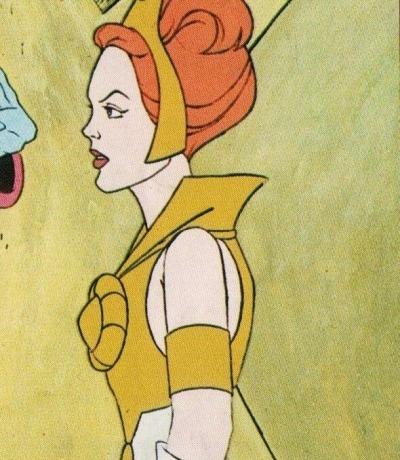 Panini Sticker Nr. 29 - 1983 Filmation He-Man / Masters of the Universe - Teela