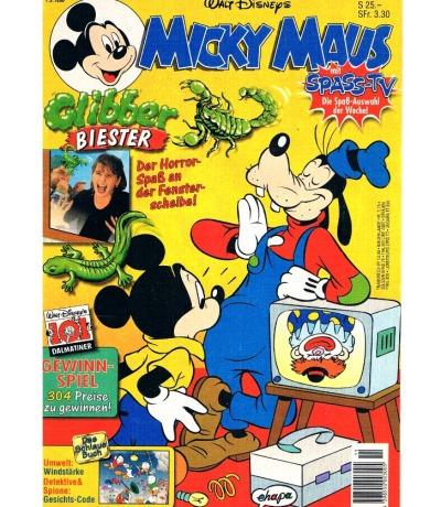Micky Maus Heft Nr 11 1996