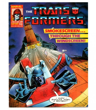 The Transformers - Comic Nr/No 149