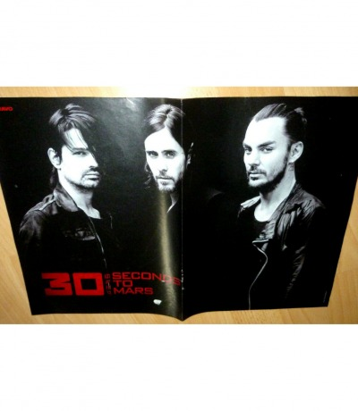 Poster - 30 Seconds to Mars