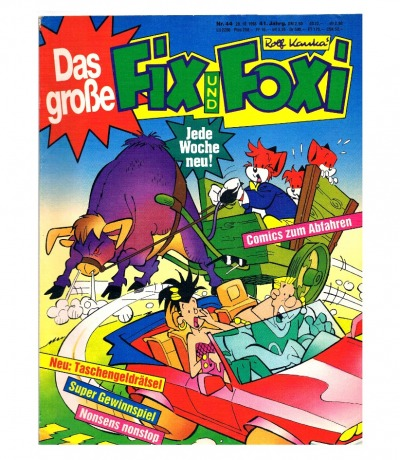Fix und Foxi Comic Nr44 41Jahrgang
