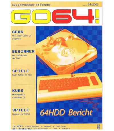 Ausgabe 05/03 - 2003 - GO64