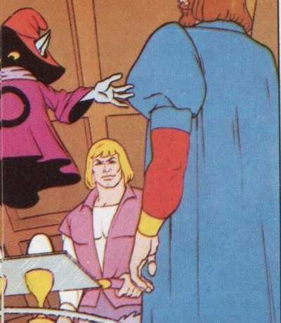 Panini Sticker Nr. 5 - 1983 Filmation He-Man / Masters of the Universe