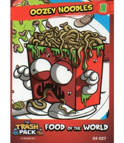 Oozey Noodles Food of the World