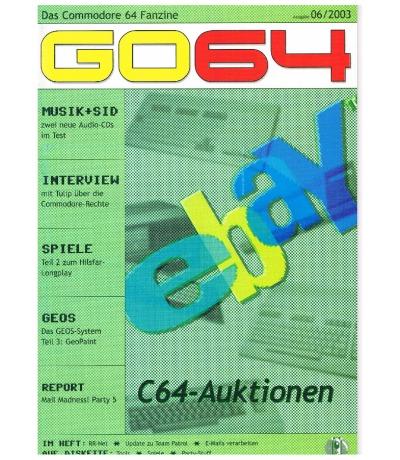 Ausgabe 06/03 - 2003 - GO64