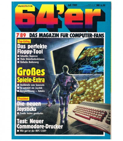 Ausgabe 7/89 1989 - 64er Magazin