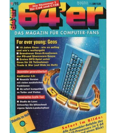 Ausgabe 9/95 1995 - 64er Magazin