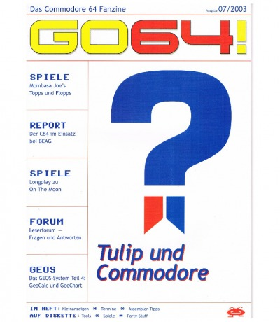 Ausgabe 07/03 - 2003 - GO64