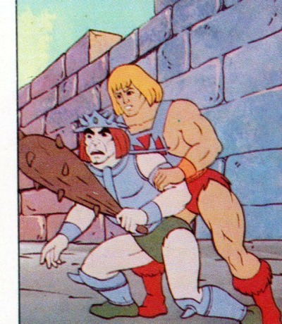 Panini Sticker Nr. 76 - 1983 Filmation He-Man / Masters of the Universe
