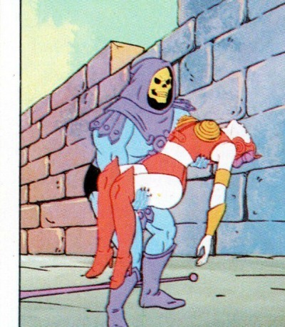 Panini Sticker Nr. 77 - 1983 Filmation He-Man / Masters of the Universe