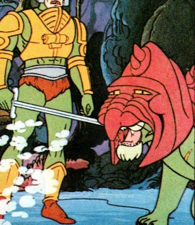 Panini Sticker Nr. 81 - 1983 Filmation He-Man / Masters of the Universe