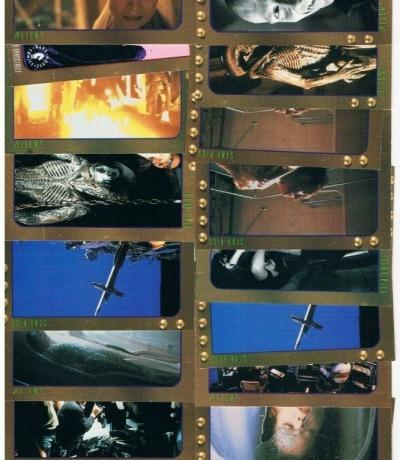 Alien 3 - 18 Trading Cards