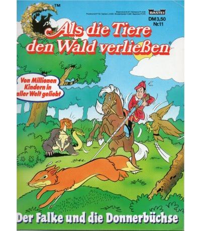 Als die Tiere den Wald verließen - Comic - Ausgabe 11 - Der Falke und die Donnerbüchse
