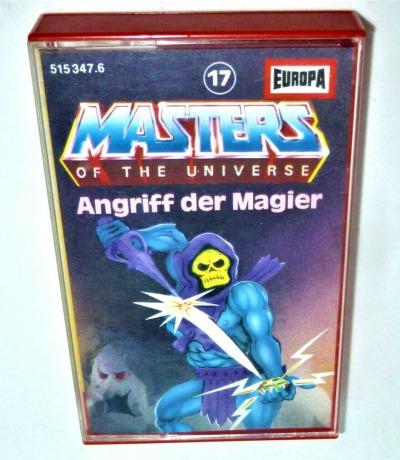 Angriff der Magier - Nr.17 - Masters of the Universe / He-Man Hörspiel - MC / Kassette