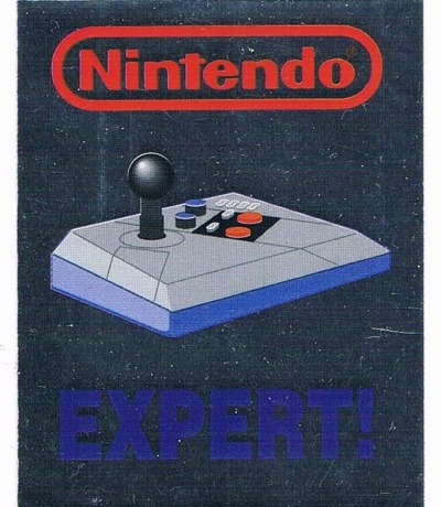 Nintendo NES Advantage Sticker Merlin Sticker