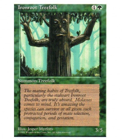 Ironroot Treefolk - Magic the gathering