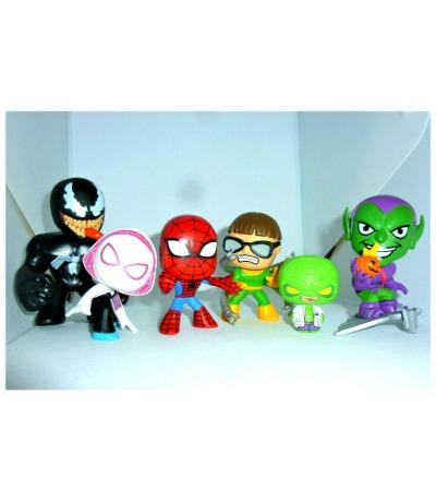 Spider-Man Mystery Minis Funko Figur Bobble