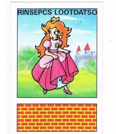 Sticker Nr Super Mario Bros Nintendo