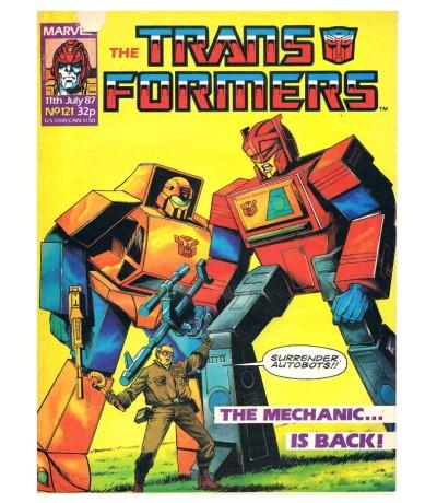 The Transformers - Comic Nr/No 121