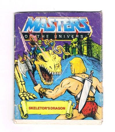 Skeletors Drachen Mini Comic Masters of