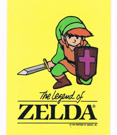 The Legend of Zelda Sticker Nintendo