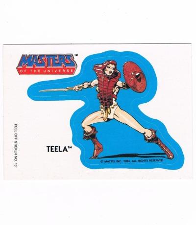 Teela Sticker von Topps Masters of