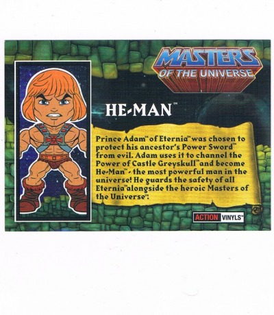 The Loyal Subjects Infokarte He-Man Masters