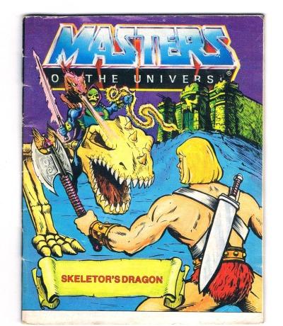 Skeletors Drachen Skeletors dragon Mini Comic