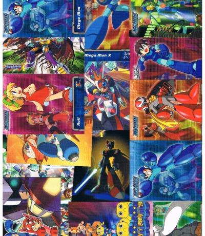 Mega Man Trading Cards Artbox Capcom