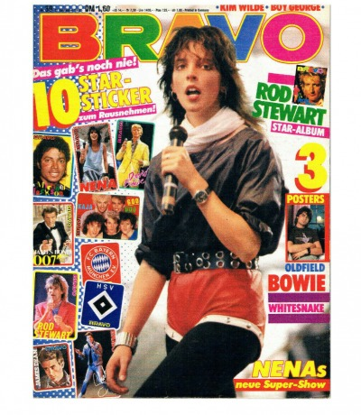 BRAVO Nr39 Komplett Heft Magazin Nena