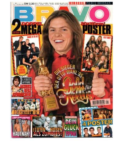 Bravo Nr.1 1995 Heft - Jetzt online Kaufen - Kylie Minogue Backstreet Boys Take That Die Toten Hosen