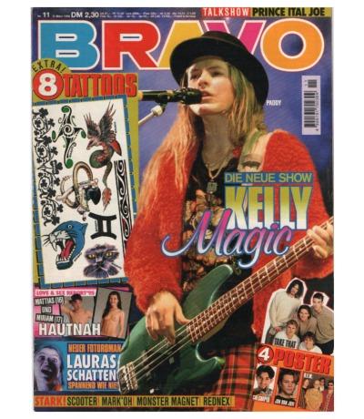 Bravo Nr. 11 1995 Heft - Jetzt online Kaufen - Bodo Frank Scooter Mark Oh Kelly Family